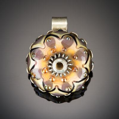 Ivy Boyer Glass Bead Pendant